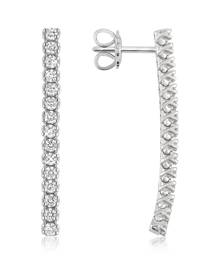 Forzieri 1.03 ctw Drop Diamond 18K Gold Earrings