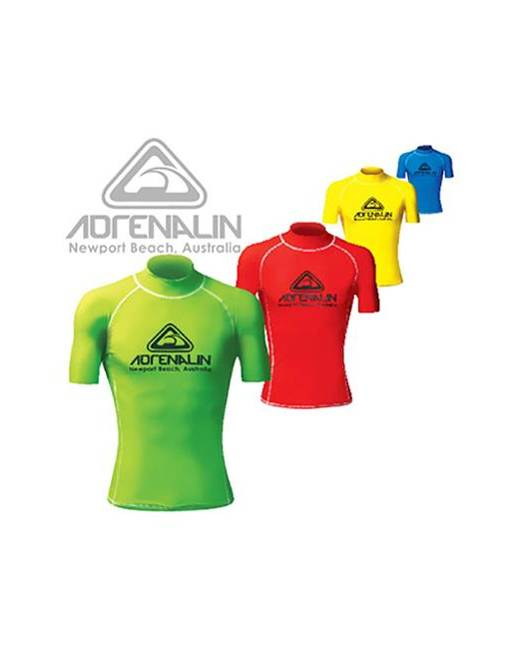 Adrenalin High Visibility Short Sleeve Rash Vest