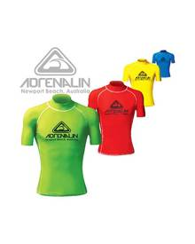 Adrenalin High Visibility Short Sleeve Rash Vest