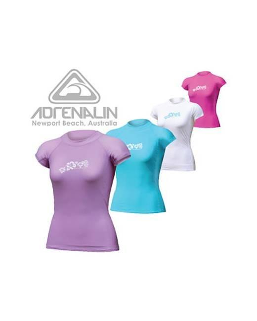 Adrenalin Ladies Cap Sleeve Rash Vest