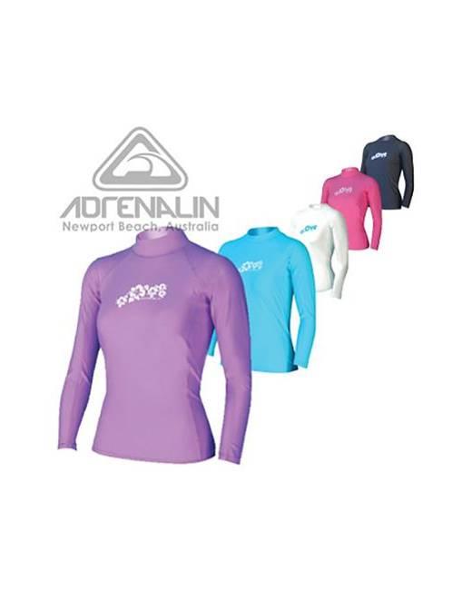 Adrenalin Ladies Long Sleeve Rash Vest