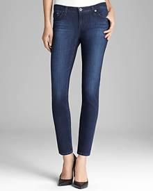 Ag Legging Ankle Jeans in Coal Grey