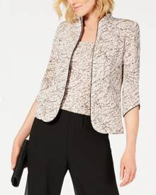 Alex Evenings Printed Jacket and Shell Set