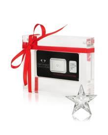 Amin Luxury Designer Necklaces, 0.38 Carat Rising Star Cut Diamond