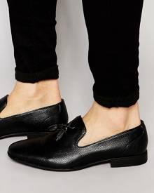 ASOS Tassel Loafers in Black - Black