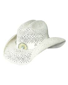 Bullhide by Montecarlo Hat Co. Bullhide Itchygoonie - Womens Shapeable Straw Cowboy Hat