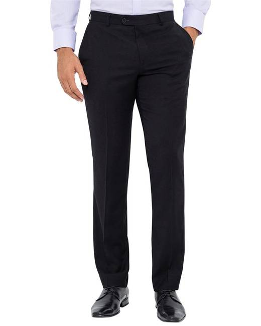 Van Heusen Business Trousers Slim Fit Business Trouser Black 77 To 112