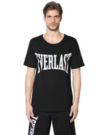 EVERLAST PORTS Cotton Printed Logo T-shirt