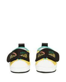 FENDI Embroidered Suede Sneakers