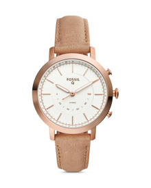 Fossil WOMEN Hybrid Smartwatch – Q Neely Bone Leather