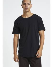 General Pants Co. Basics - Longline Curved Hem T-shirt Black