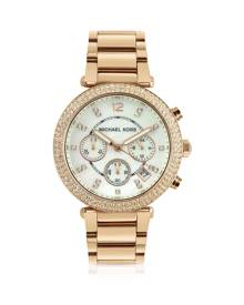 Michael Kors Glitz-Top Chronograph Watch
