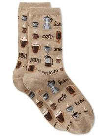 Hot Sox Women's Coffee Crew Socks