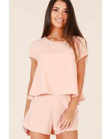 Showpo Sunny Dayz playsuit in peach - 10 (M) Playsuits & Jumpsuits