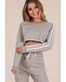 Showpo Lit Jumper in Grey Marle - 10 (M) Long Sleeve