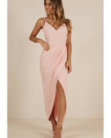 26c91a0d84 Showpo Lucky Day maxi dress in blush - 10 (M) Occasion Dresses