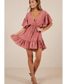 Showpo No Wasting Time dress in dusty rose - 6 (XS) Casual Dresses