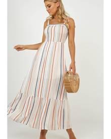 Showpo Hiding Somewhere dress in multi stripe - 8 (S) Maxi Dresses