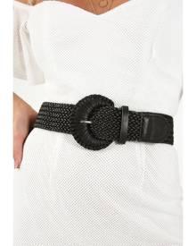 Showpo Something On My Mind Belt In Black Belts