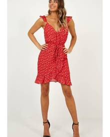 0ac86b8bbe4aa Showpo Summer tale dress in red - 6 (XS) Casual Dresses