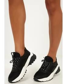 Showpo Therapy - Busta sneakers in black - 6 Therapy