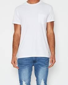 Superior Garment Co Pocket T-Shirt White