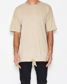 King Apparel White Label Oversized T-Shirt Camel