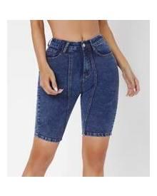 ROMWE Skinny Denim Shorts