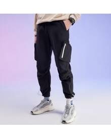 ROMWE Guys Pocket Cargo Pants