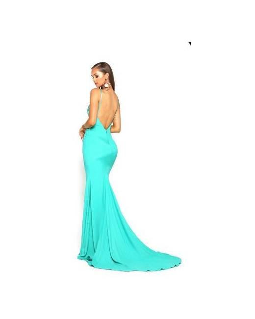 Long Ethnic Loose Hippie Wide Sleeves Dress Light Turquoise Women Resort Vacation Beach Dress Aqua Silky Kaftan Summer Dress