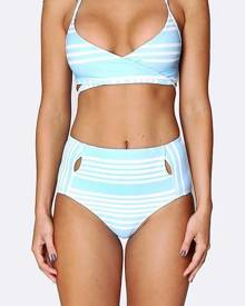 Allerton Cut out High Waisted Brief - Tropical Punch