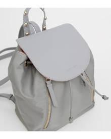 Belle & Bloom Designer KENZO Grey Leather Backpack Bag
