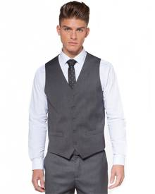 Hallensteins Stockton St. Stretch Waistcoat in Charcoal