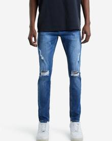 Hallensteins Absent Ripped Skinny Jeans in Marina Blue