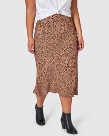 Something 4 Olivia - Emily Animal Printed Skirt - Pencil skirts (Neutrals) Emily Animal Printed Skirt