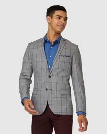 Jack London - Astbury Check Blazer - Suits & Blazers (Grey) Astbury Check Blazer