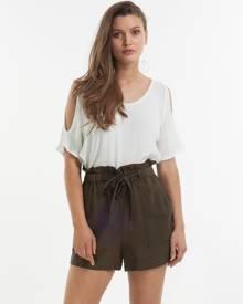 Amelius - Sahara Shorts - High-Waisted (Khaki) Sahara Shorts