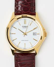 Casio - Analogue Vintage - Watches (Brown & Gold)