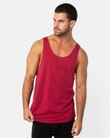 ONEBYONE - Classic Blank Singlet - T-Shirts & Singlets (Red) Classic Blank Singlet