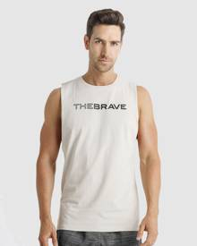 The Brave - Waverider Muscle Tank - Muscle Tops (White) Waverider Muscle Tank