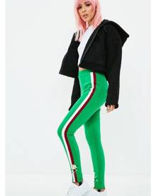 Missguided Embroidered Stirrup Leggings