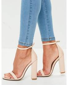 Missguided barely there block heels