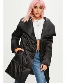 Missguided Waterfall Puffer Jacket
