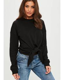 Missguided Knot Front Sweatshirt