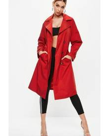 Missguided Oversized Classic Trench Coat