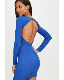 Missguided Open Back Bodycon Dress