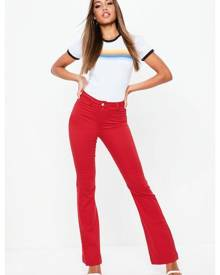 Missguided High Waisted Flare Jeans