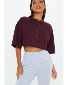 Missguided Boxy Crop Top