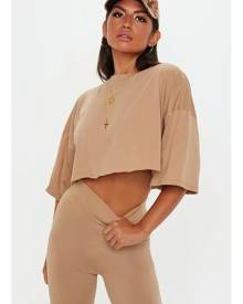 Missguided Oversized Boxy Crop Top
