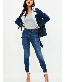 Missguided High Waisted Clean Jeans